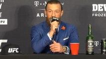 McGregor hails Cerrone's grandmother after winning UFC return