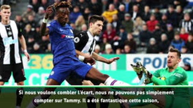 """23e j. - Lampard : """"Nous ne pouvons pas toujours compter sur Abraham"""""""
