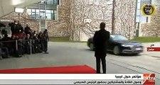 بدء توافد القادة المشاركين فى مؤتمر برلين حول ليبيا