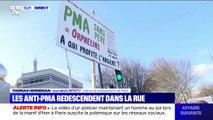 À Paris, les anti-PMA redescendent dans la rue