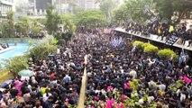 Hong Kongda seçim reformu protestosu - HONG