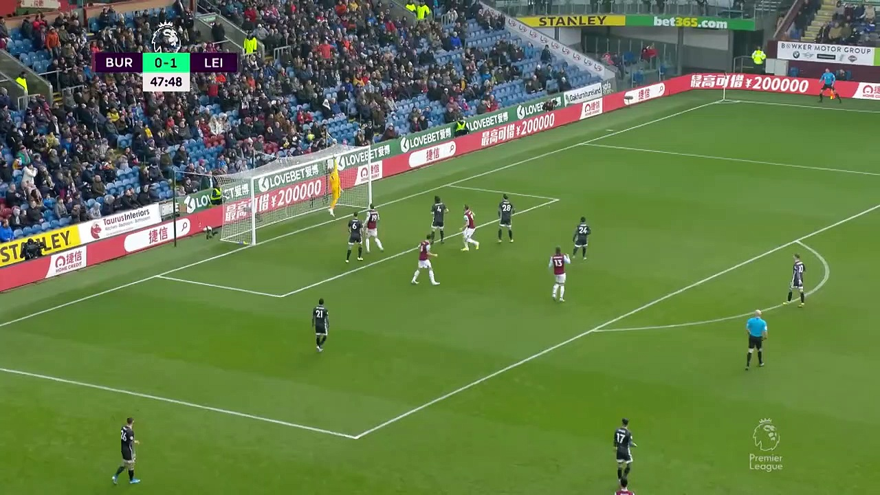 Burnley - Leicester (2-1) - Maç Özeti - Premier League 2019/20