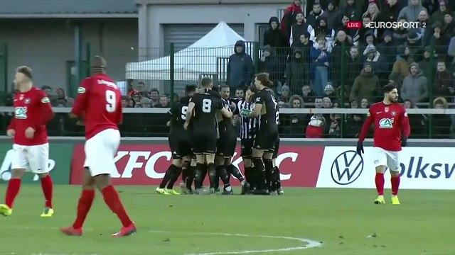 Angers démarre fort à Rouen : Alioui ouvre le score à la 3e minute