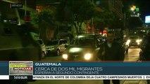 Guatemala: 2 mil migrantes esperan nuevo contingente para avanzar