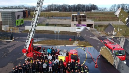 Team building chez les pompiers