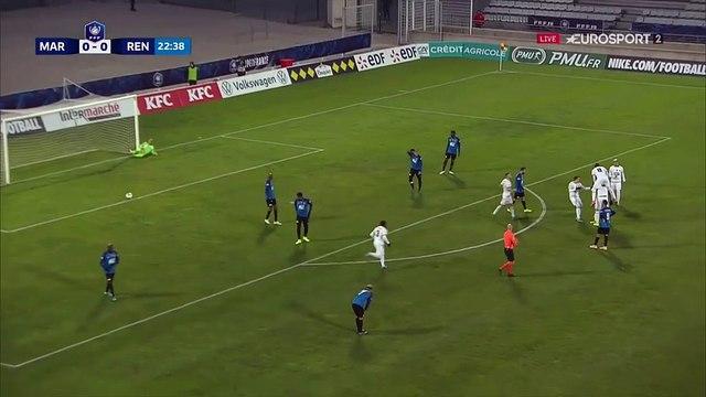 Alerte coup de canon : l'ouverture du score d'Hamary Traoré pour Rennes !