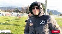 Rugby/Fédérale 2 : des supporters bien présents pour le derby Voiron-Vinay