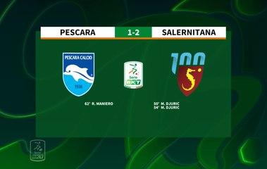 HIGHLIGHTS #PescaraSalernitana 1-2 #SerieBKT