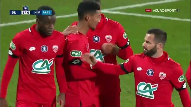 Dijon fait la différence grâce au duo Chouiar-Mavididi