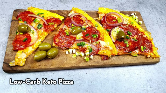Low-Carb Keto Pizza - CLEVER CHEF