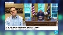 U.S. impeachment procedure: Senate trial proceedings to start Tuesday
