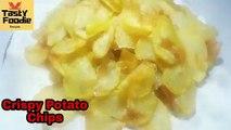 Crispy Aloo Chips Recipe   Crispy Potato Chips Recipe   Potato Chips Secrets Recipe by Tasty Foodie