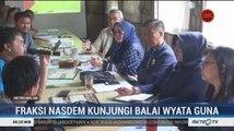 Anggota DPR Fraksi NasDem Kunjungi Mahasiswa Difabel di Asrama Wyata Guna