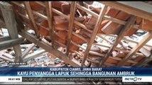 Atap Sekolah di Ciamis Ambruk