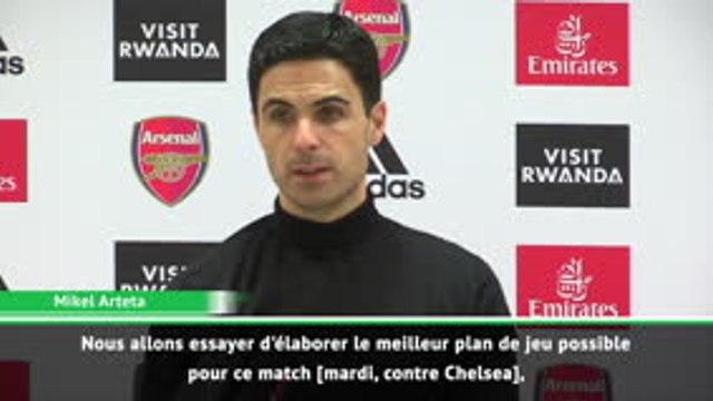"""24e j. - Arteta : """"Déceler les faiblesses de Chelsea"""""""