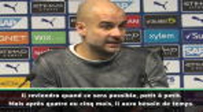 """Man City - Guardiola : """"Laporte ne sera pas prêt tout de suite"""""""