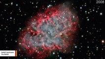 Timelapse Captures Supernova Remnant Expanding At 600 Miles Per Second