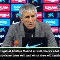 Setien hails promising Barca signs in coaching debut