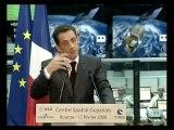 Discours de Nicolas Sarkozy au Centre spatial guyanais
