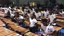 Competencia de marimba de estudiantes Colombianos