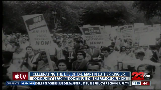 Celebrating the life of Dr.Martin Luther King Jr. in Bakersfield