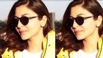 Spotted Anushka Sharma At The Airport
