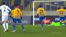 MKE Ankaragücü 0-1 İttifak Holding Konyaspor Maçın Geniş Özeti ve Golü