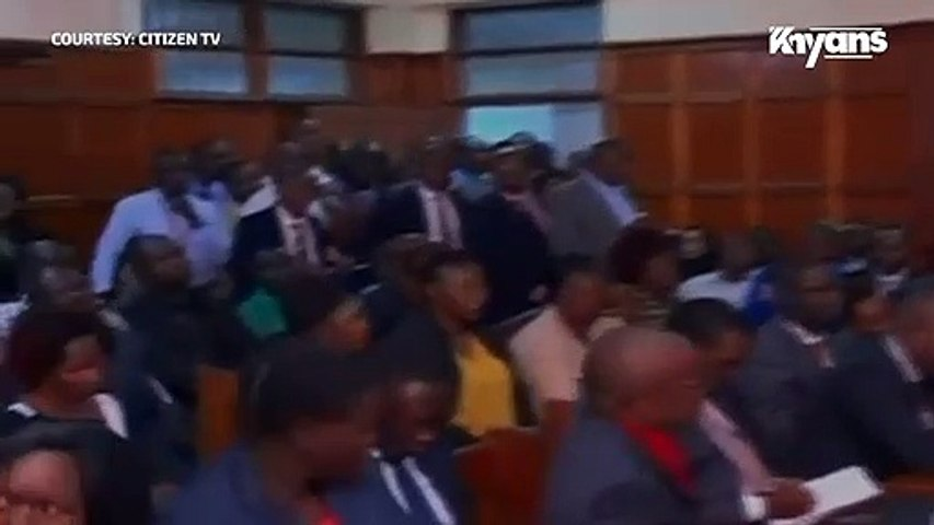 Babu Owino's Wife Leaves Court in Stitches