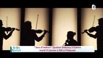 """20 JANVIER 2020 - """"Jeux d'ombres"""", """"il y aura la jeunesse d'aimer"""", Festival Aux Rires Etc - Biscotte, Möbius"""