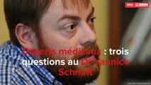 Dr Schmitt -Lingolsheim- sur les déserts médicaux