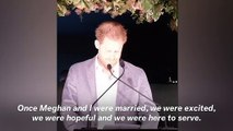 Prince Harry Feels 'Great Sadness' Over His And Meghan's Decision