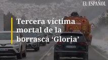 Tercera víctima mortal de la borrasca Gloria
