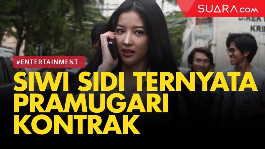 Siwi Sidi Ternyata Pramugari Kontrak di Garuda Indonesia