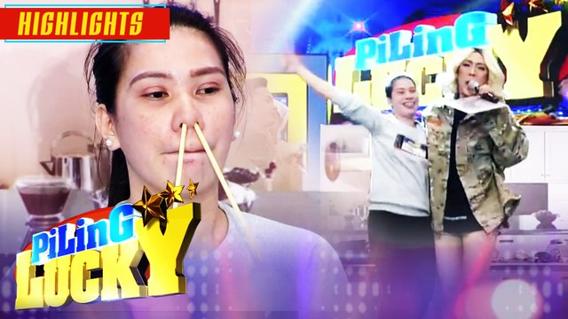 Piling Lucky contestant wins 100,000 pesos on It's Showtime! | It's Showtime Piling Lucky
