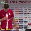 Sinan Gümüş, Antalyaspor'da!