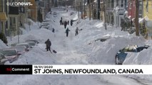 Canadian Army sent to Newfoundland after blizzard throws down over 2 feet of snow