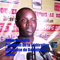 État des lieux du Badminton au Bénin : Décryptage du président de la fédération Aubin Assogba