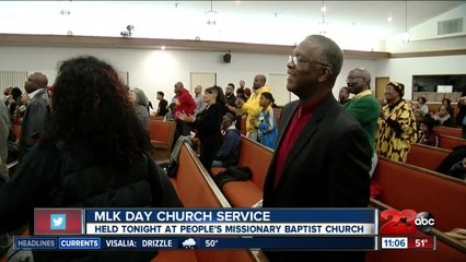 Hundreds take part in MLK events