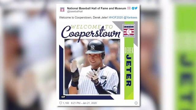Social Media Reactions to Derek Jeter Heading To Cooperstown