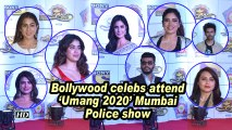 Bollywood celebs attend 'Umang 2020' Mumbai Police show