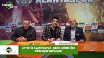 Aytemiz Alanyaspor, Cenk Gönen ile sözleşme imzaladı