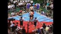 AJPW - 06-05-1989 - Jumbo Tsuruta (c.) vs. Genichiro Tenryu (Triple Crown Title)