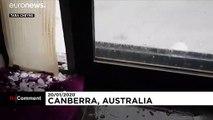 Powerful hail storm brings Australian capital, Canberra, to a halt