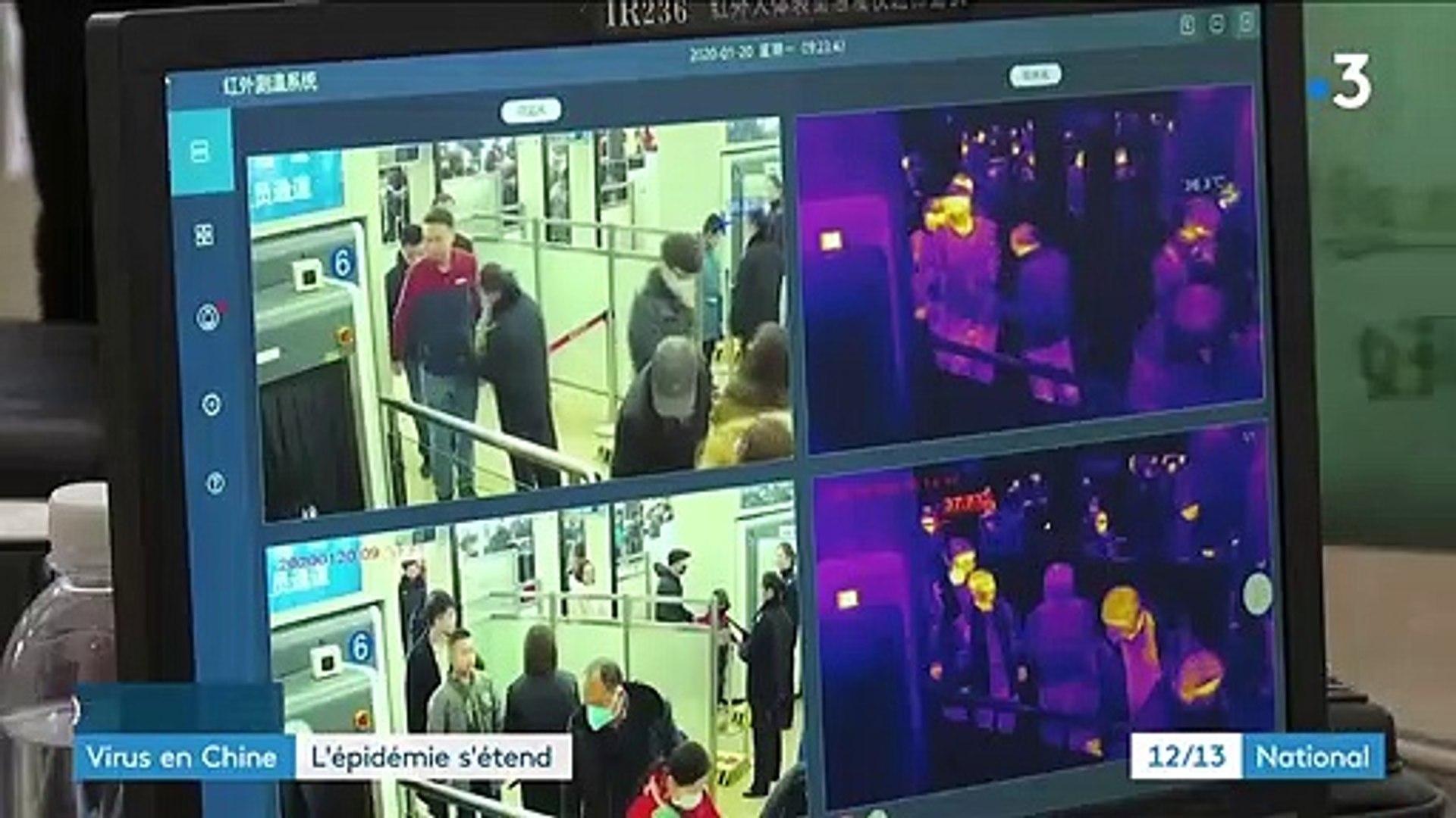 Virus en Chine : l'épidémie s'étend hors des frontières
