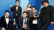 Le film Parasite acclamé aux Screen Actors Guild Awards!