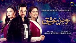Ramz-e-Ishq - Episode 29-- 20th Jan 2020 - HAR PAL GEO