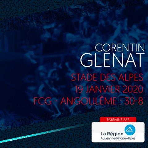 Rugby : Video - L'essai de Corentin Glenat contre Soyaux-Angoulême