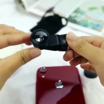 Universal 3 in 1 Mobile Phone Lenses Fisheye Wide Angle Macro
