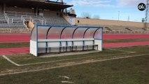 Este es el Estadio Las Pistas en donde el Real Madrid jugará contra el Unionistas de Salamanca
