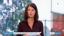 Tempête Gloria : les Pyrénées-Orientales en alerte orange